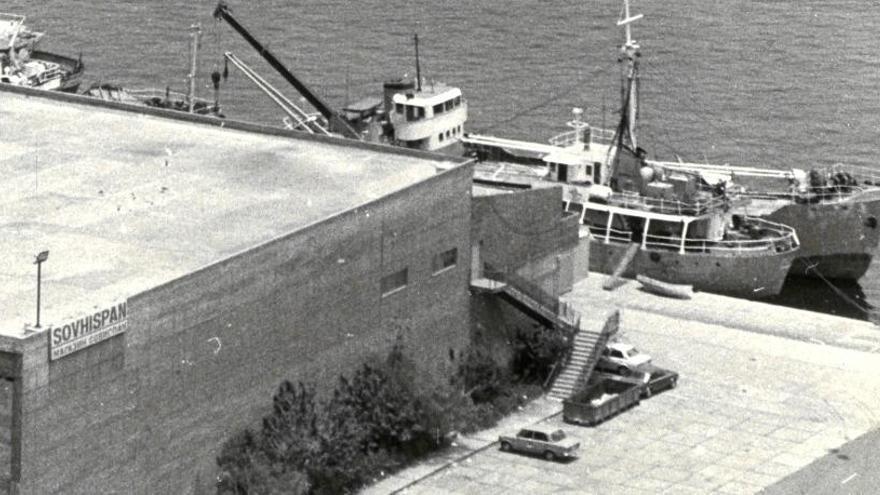 El Puerto derriba los últimos vestigios de la nave de Sovhispan en el muelle Sanapú