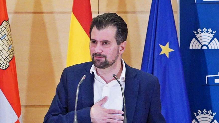 Tudanca, convencido de que la moción de censura en Castilla y León prosperará