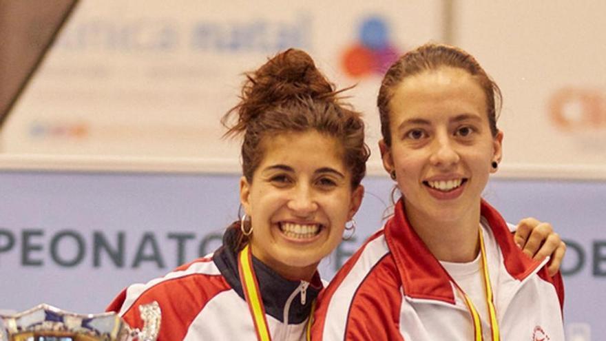 Homenaje a Judith Rodríguez en el podio del Nacional