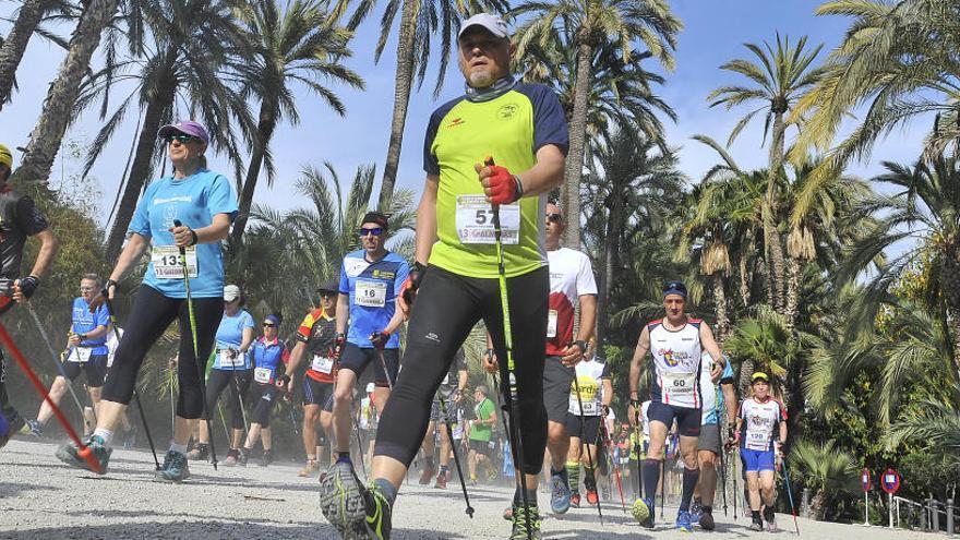 Elche acoge el Campeonato de España de Marcha Nórdica
