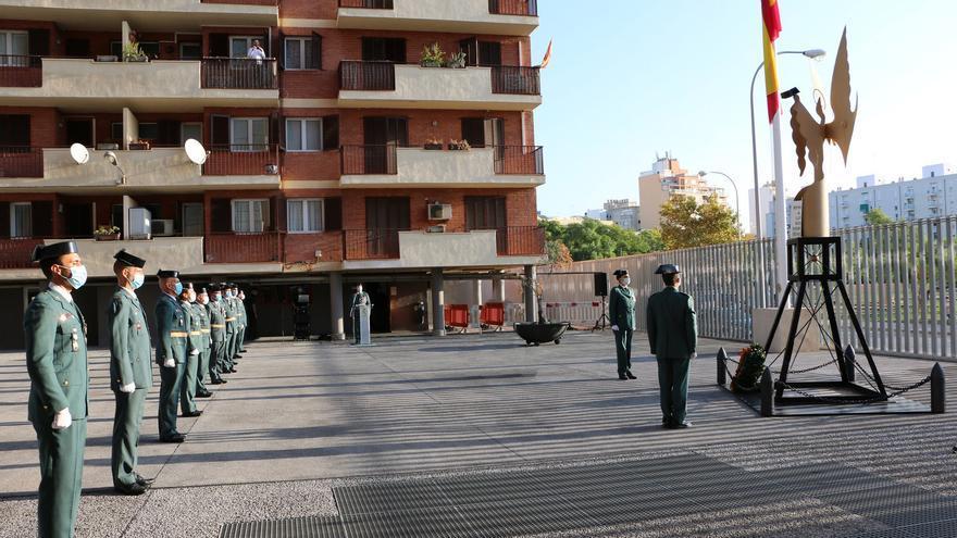La Guardia Civil celebra su patrona adaptada a la pandemia