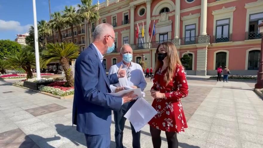 """El PP critica que Serrano y Gómez """"preparan el terreno para aplicar una subida de impuestos encubierta"""""""