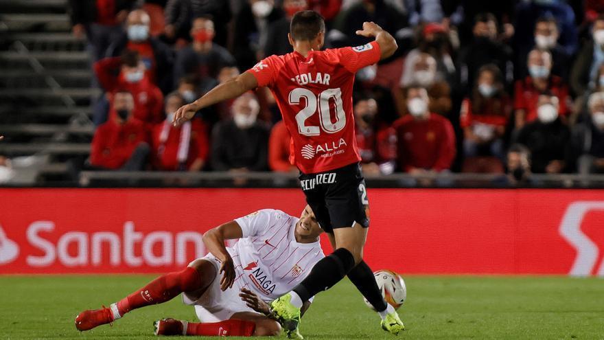 El Mallorca frena al Sevilla con un empate