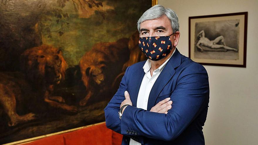"""Marín mantiene el pulso con Mallada y rechaza dimitir """"forzado"""" del PP de Gijón"""