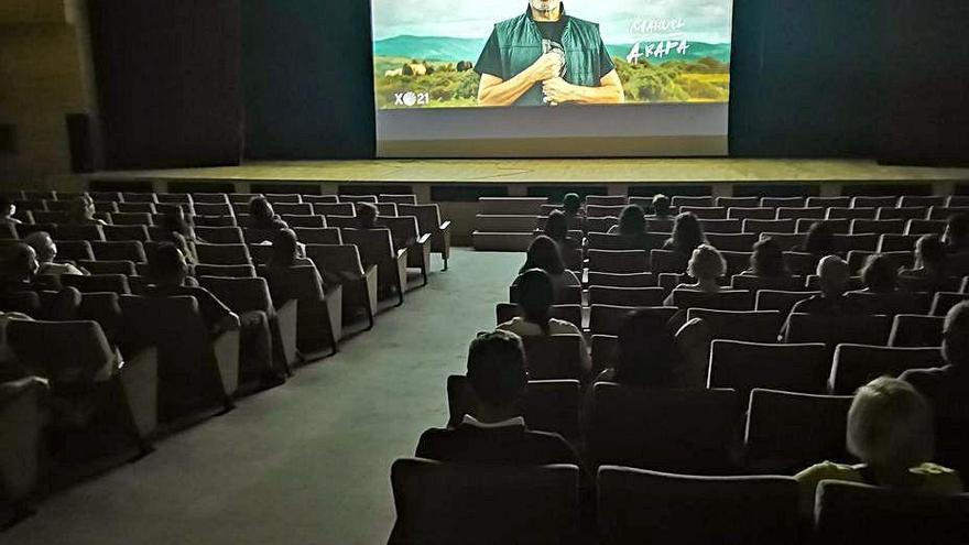 El cine de Cans, en Cangas
