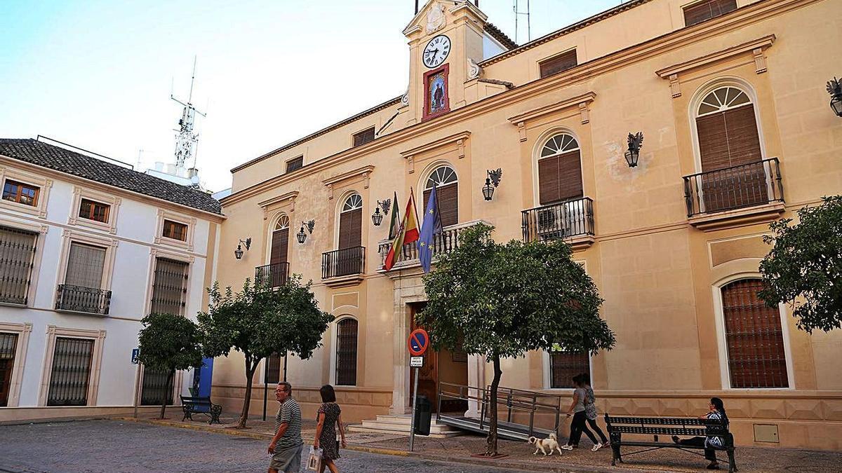 Fachada del Ayuntamiento de Montilla.