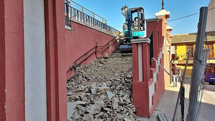Xixona inicia las obras de reforma del colegio Eloy Coloma por casi 500.000 €