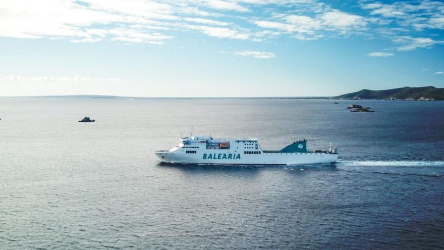 Baleària incorpora a su flota el sexto barco a gas natural