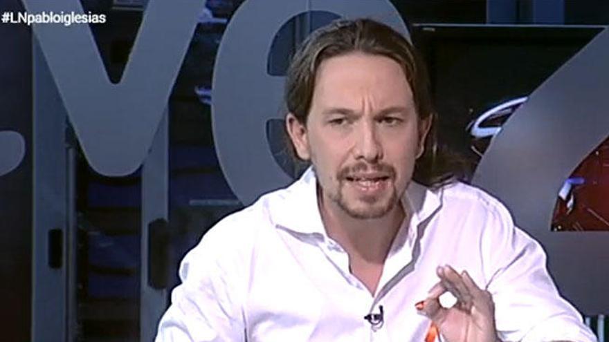 """Pablo Iglesias: """"Hemos cambiado por responsabilidad del Estado"""""""