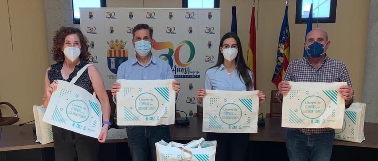 Imagen de la presentación de la campaña de Los Montesinos