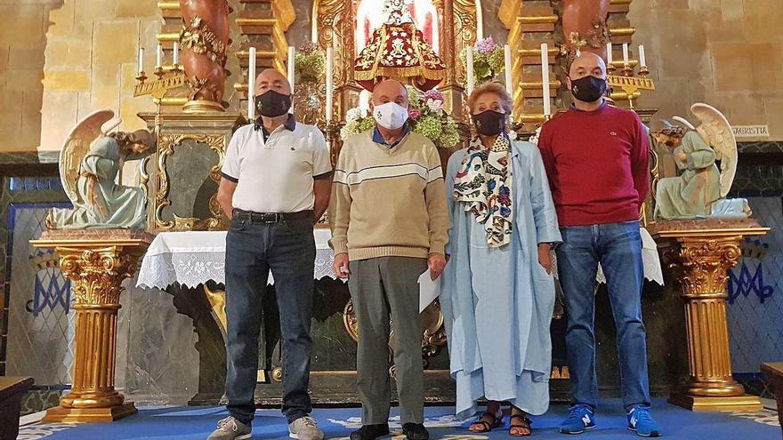 Las fiestas del Portal de Villaviciosa conservan el rezo de la novena