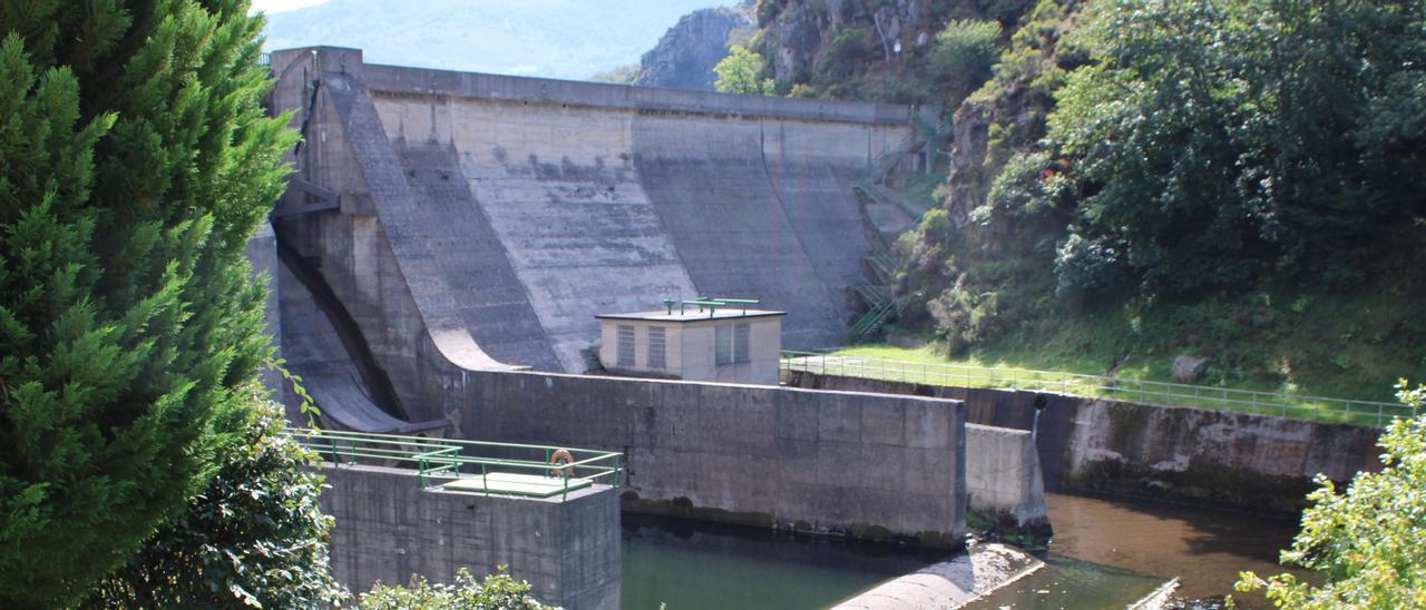 La presa de Riosec.