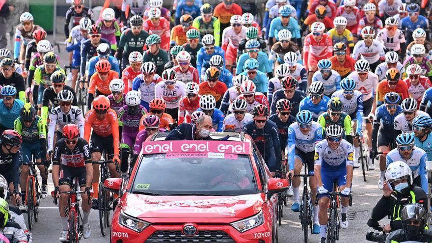 El italiano Matteo Spreafico, expulsado del Giro por dopaje
