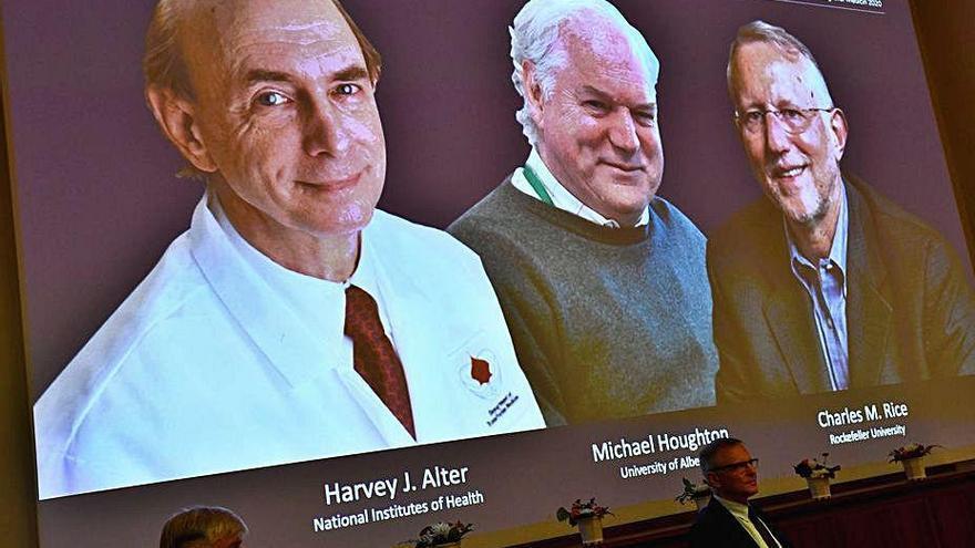 """Los descubridores del virus de la hepatitis C se llevan el Nobel """"por salvar millones de vidas"""""""