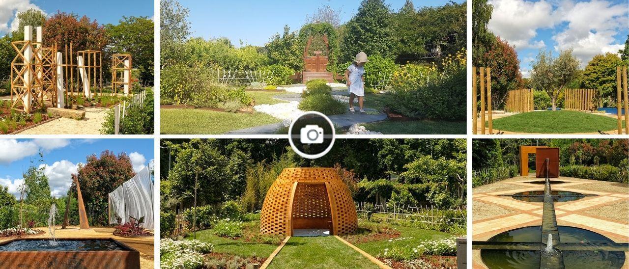 Los jardines se hacen arte a una hora de Vigo