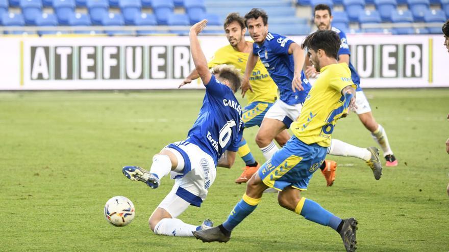 Un doblete de Nahuel levanta al Oviedo