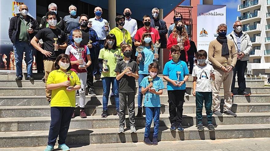 Cristina Sureda se proclama campeona de Balears de ajedrez