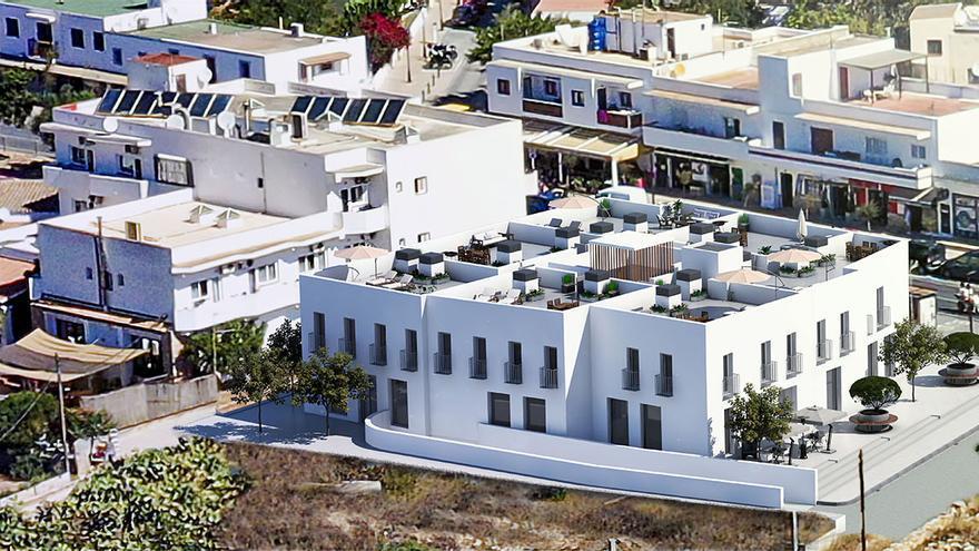 Comienza la construcción de siete viviendas y siete locales en Sant Ferran