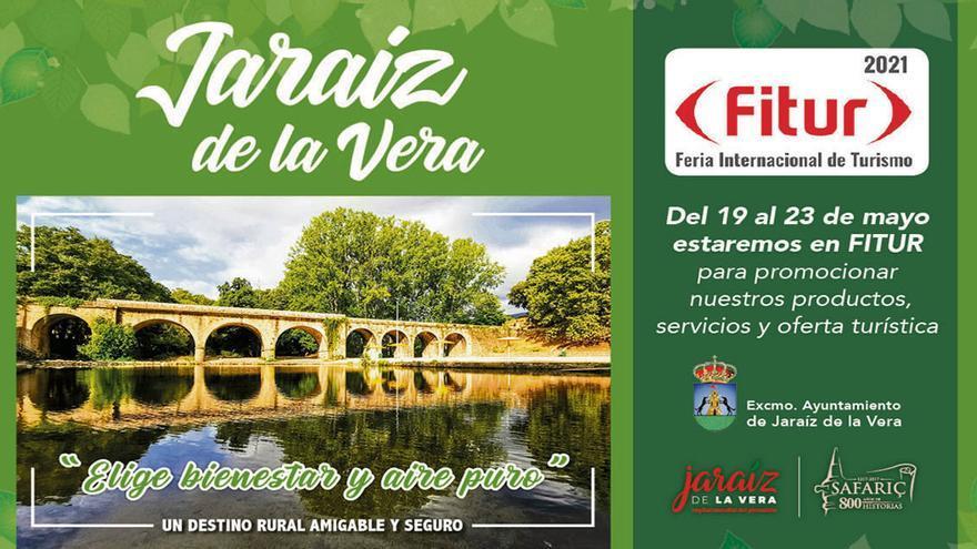 Elige bienestar y aire puro, elige Jaraíz de la Vera para hacer turismo seguro