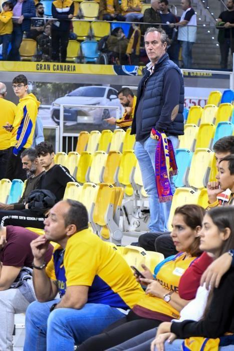 09-02-20 DEPORTES. PABELLON GRAN CANARIA ARENAS. SIETE PALMAS. LAS PALMAS DE GRAN CANARIA. Partido de baloncesto entre los equipos del Herbaife GC y el Barcelona.    Fotos: Juan Castro.
