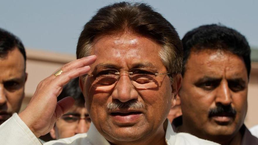 Condenado a muerte el expresidente de Pakistán Pervez Musharraf por traición