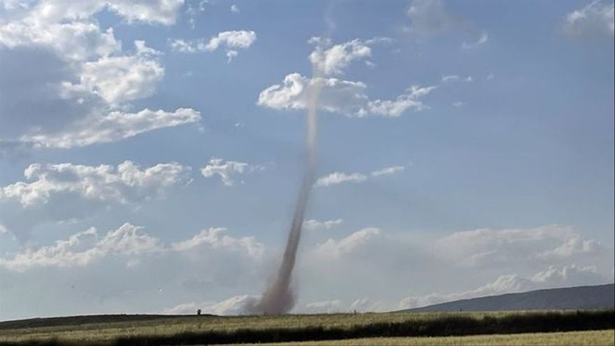 Las tormentas no dan tregua y machacan los cultivos en todo Aragón