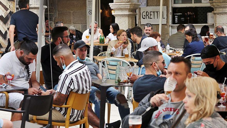 Agosto sonríe a los hoteles de Vigo, que rozan el 100%