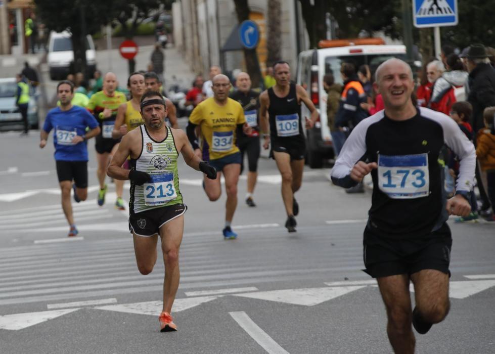 Imágenes de la Carrera del Pavo 2018 en Vigo