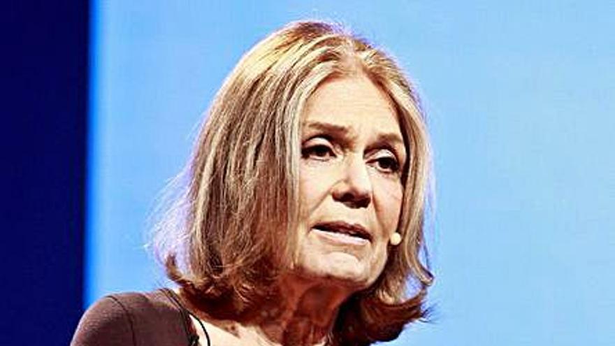 La escritora Gloria Steinem, referente del feminismo, Premio Princesa de Asturias de Comunicación
