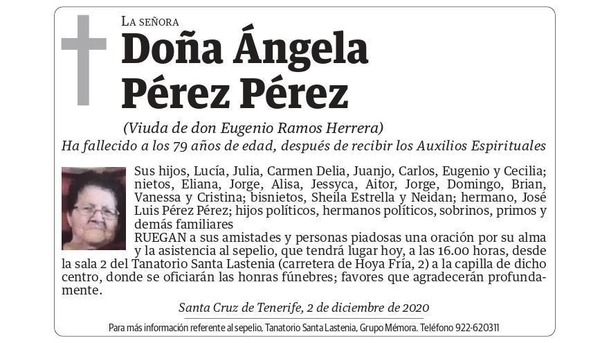 Ángela Pérez Pérez