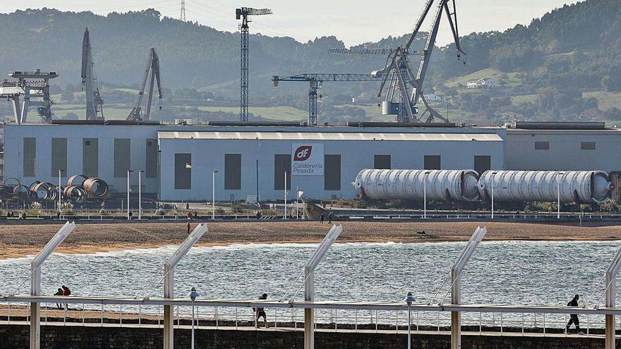 El Tallerón retomará el montaje de las grandes piezas de refinería que fabrica
