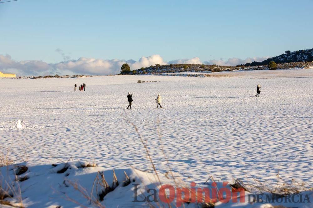 La nieve sigue siendo protagonista en el Noroeste