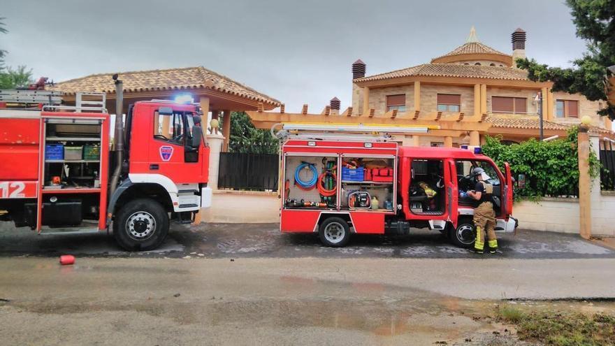 Emergencias atiende 44 incidentes relacionados con las fuertes lluvias en la Región