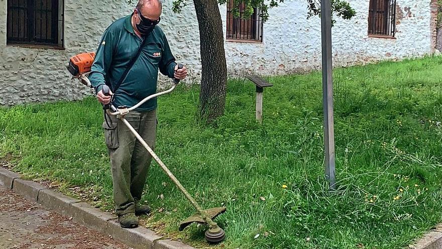 Los contratos de jardinería, a expensas de desbloquear el presupuesto de Vila-real del 2021