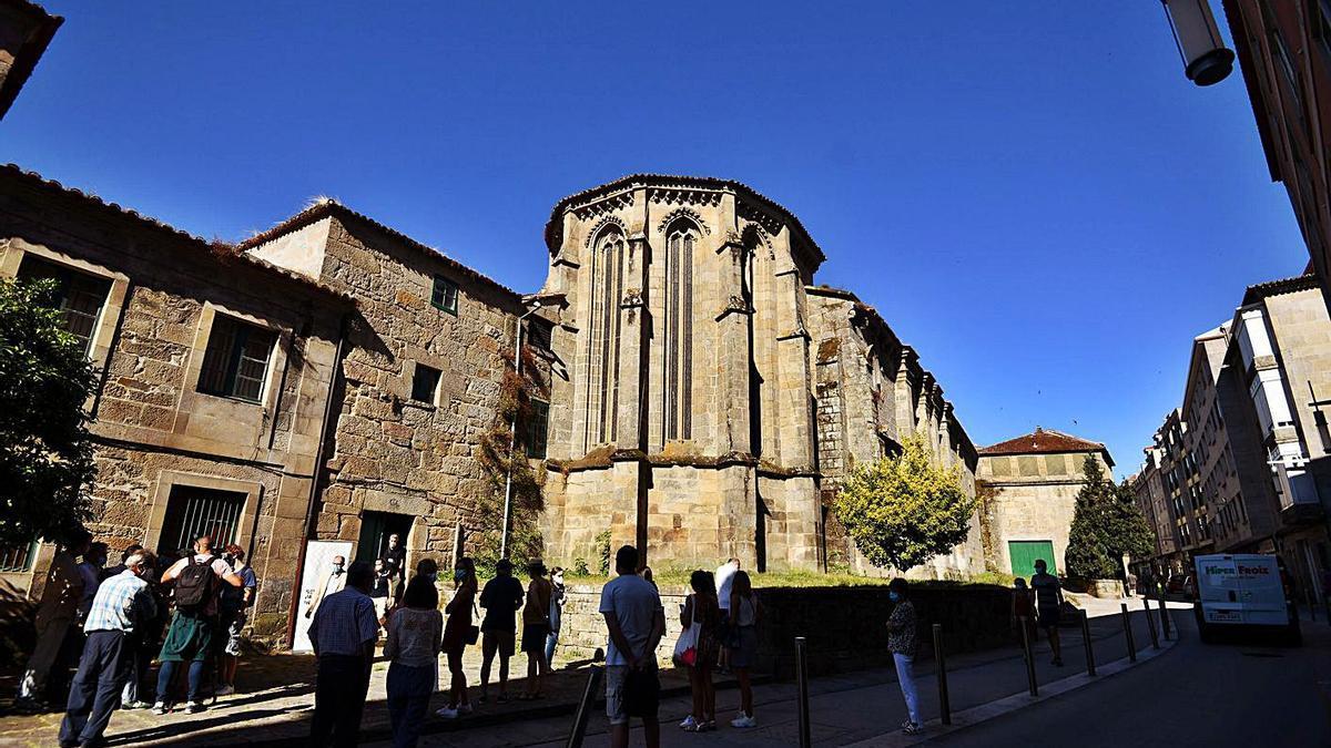 Convento de Santa Clara, que el Concello quiere adquirir para el uso público.     // G.SANTOS