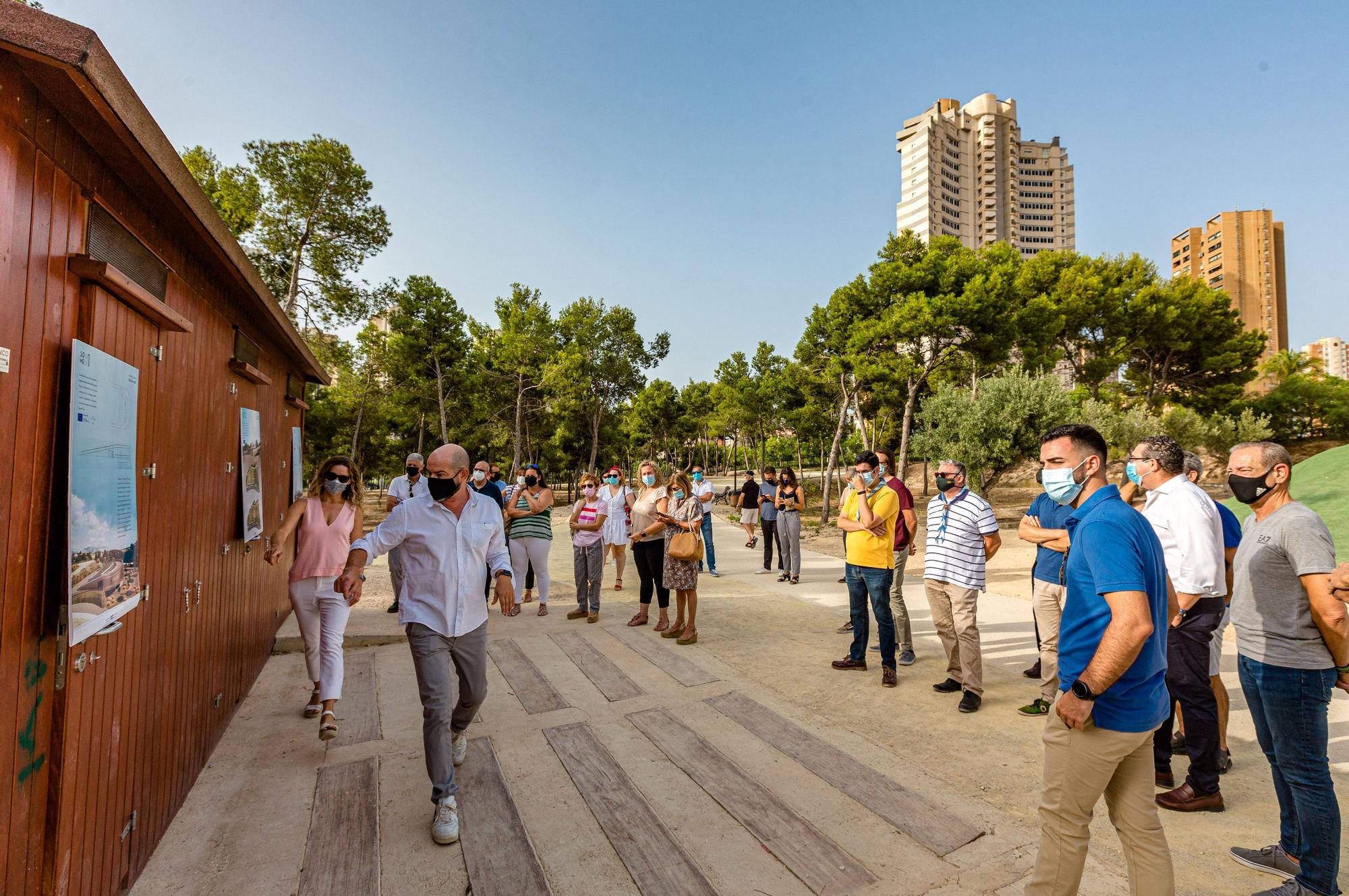 Presentación del proyecto del nuevo Albergue en el parque de la Séquia Mare en Benidorm