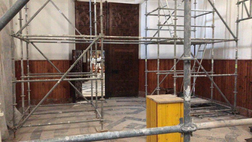 El riesgo de derrumbe coloca a la Iglesia de las patronas de Orihuela en la Lista Roja del Patrimonio