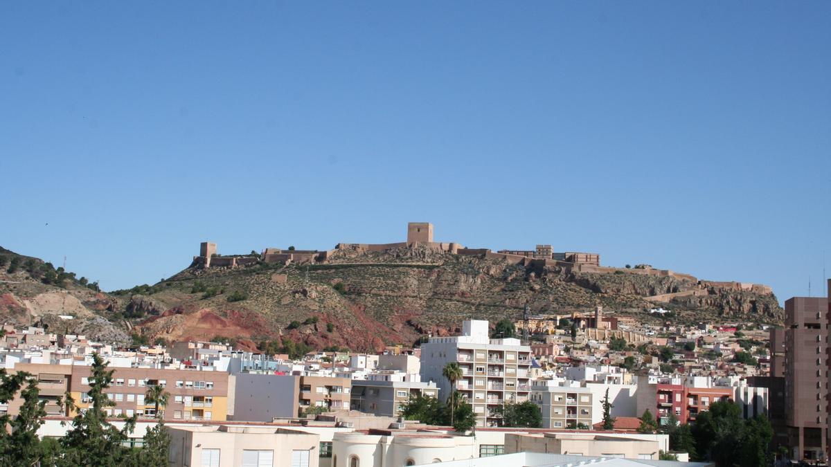 Vista panorámica del Castillo donde se sitúa en Parador.