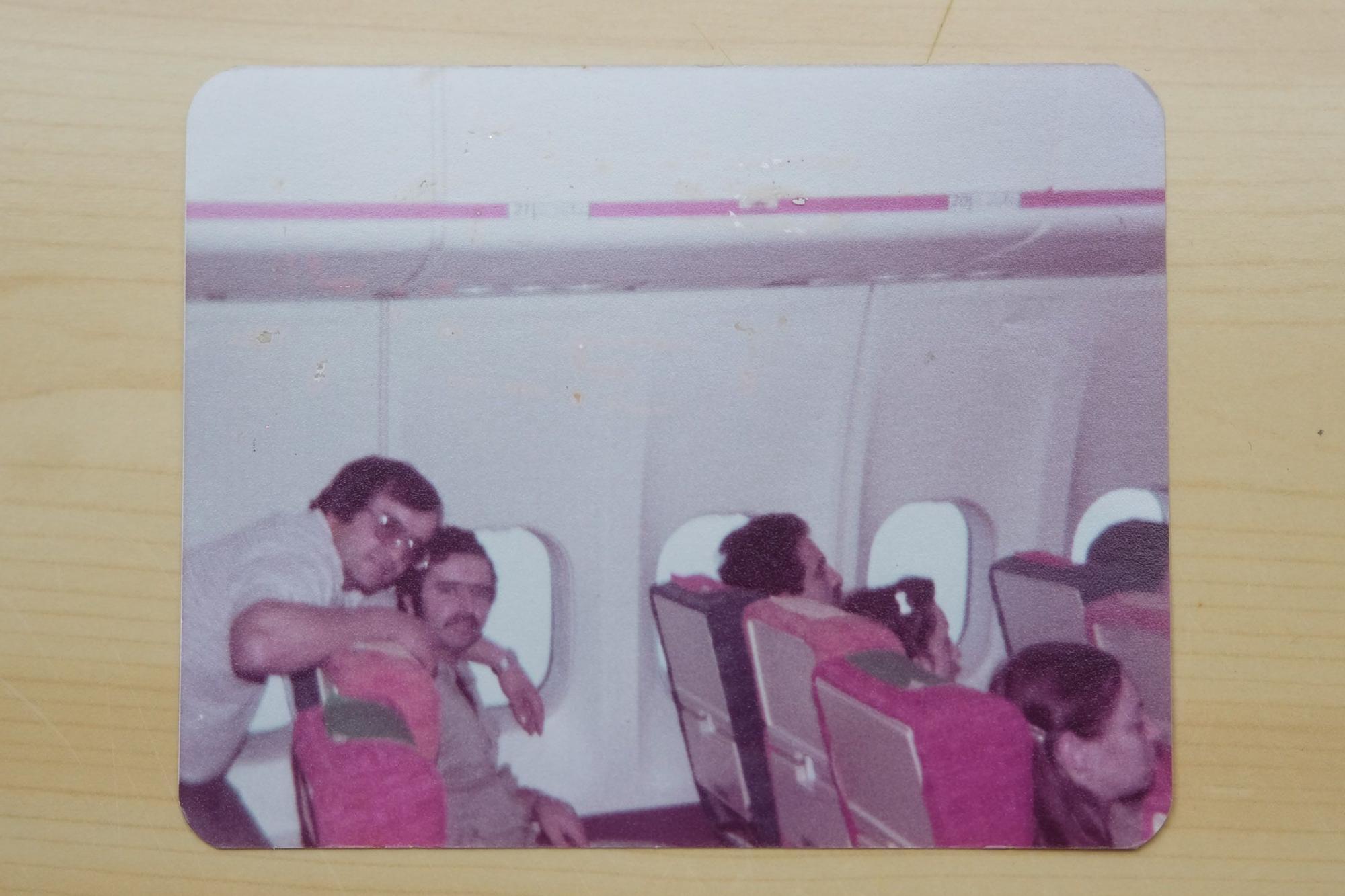 Antiguos trabajadores de la aerolínea Spantax