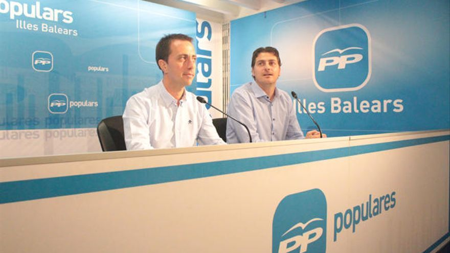 Galmés y Sagreras estarán en la dirección nacional del PP si gana Pablo Casado