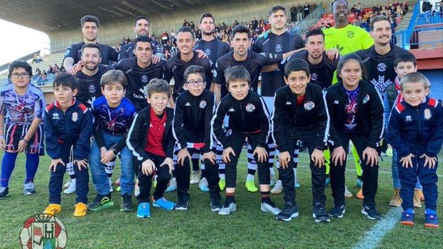 Once inicial del Zamora CF, este domingo.