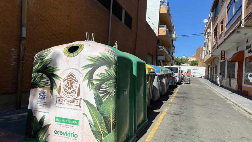 El Ayuntamiento de Coria trata de promover la recogida selectiva del vidrio