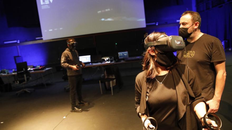 El LEV Festival ofrece su mundo virtual en la Laboral