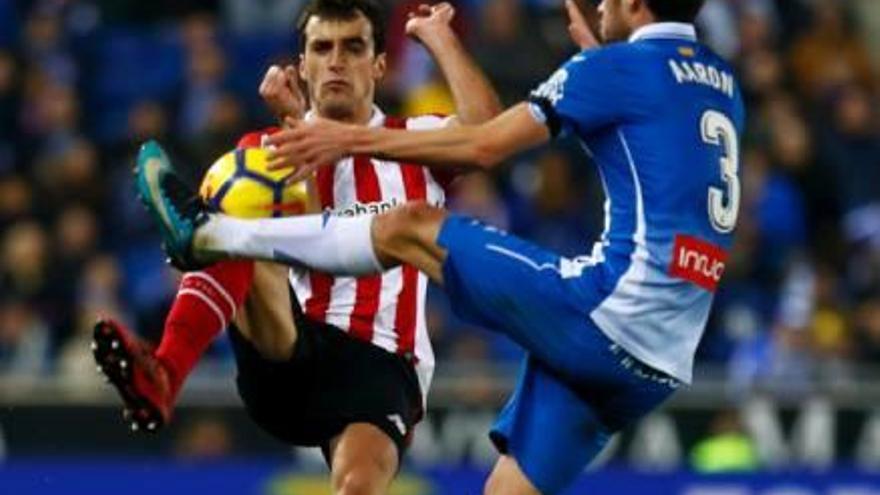 L'Espanyol i l'Athletic Club es reparteixen els punts