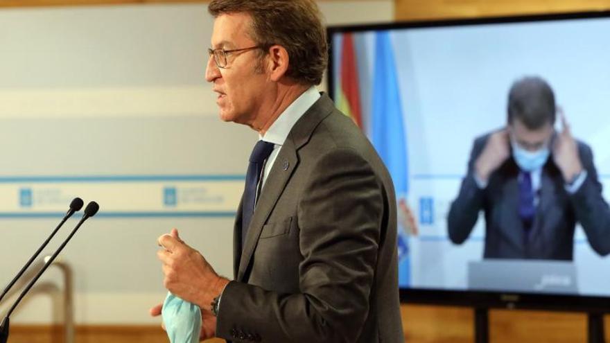 La Xunta explora una vía para intentar desactivar el conflicto por la Lei de Saúde