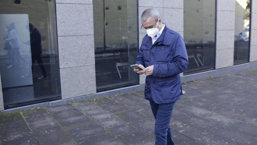 Abreu ofrece al juez  el registro de llamadas con las que Santiago Pérez lo presionó