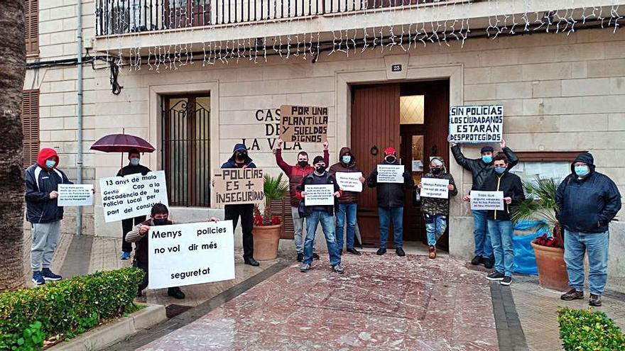 Suma pel Canvi reclama una mesa de diálogo con la policía de Santa Margalida