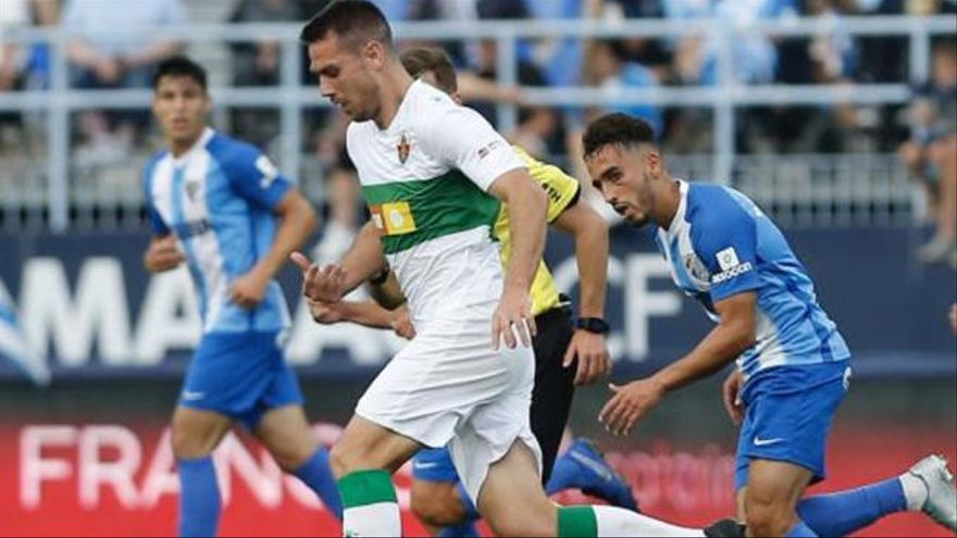 LaLiga 123: Los goles del Málaga - Elche (3-0)