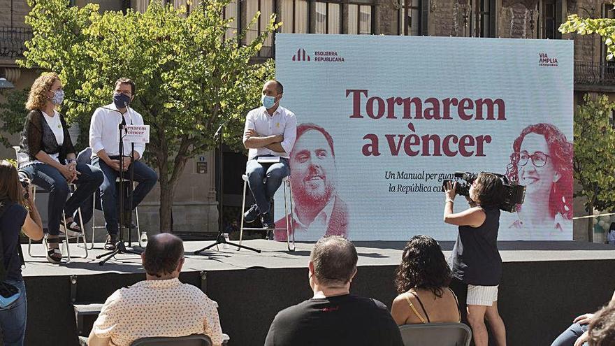 Aragonès demana una resposta conjunta a la inhabilitació de Torra