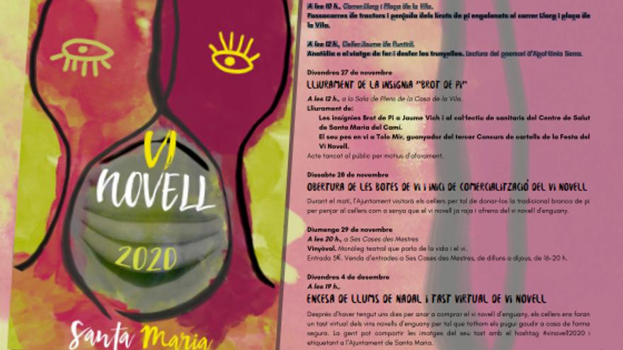 Festa del Vi Novell a Santa María del Camí 2020